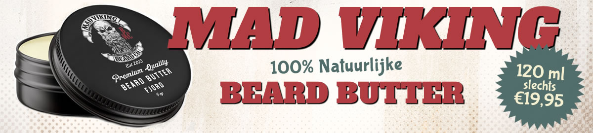 Mad Viking Beard Butter